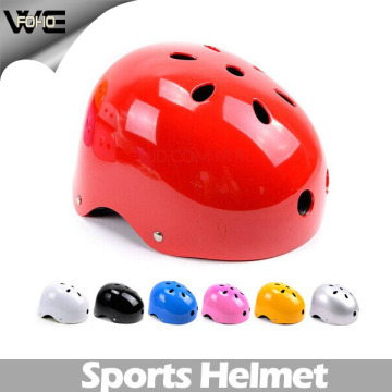 Promotional Safety Scooter Red Skating Bicycle Ladies Helmet