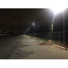 Luz de rua solar integrada 15W do sensor de movimento tudo em dois