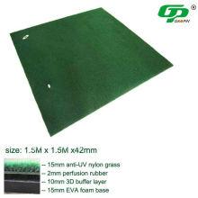 1,5 m * 1,5 mt Golf matte / golf schaukel matte / golf fahren matte