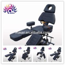 Multi função tatuagem cama, tatuagem mobiliário, massagem cama beleza facial tatuagem cadeira