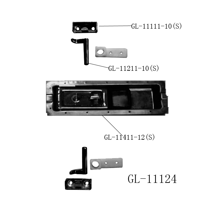 Shipping Container Door Lock GL-11124Z