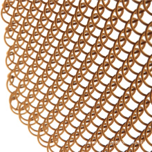 Popular flexible metal mesh decorative wire mesh curtain for cabinets mesh
