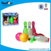Vente en gros de jouets pour enfants balle de bowling transparente