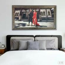 Cadre de photo de décoration murale multicolore