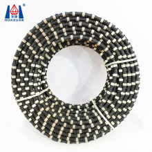 Diamond rubber wire saw for granite or marble stone quarry