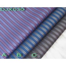 Stripe Polyester Cotton Dobby Fabric Shirting Djx030