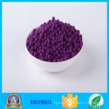 Bola activa de Permanganat del potasio para el amortiguador del gas de etileno