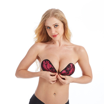 Sujetador de silicona para mujer Invisible Push Up bra