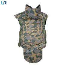Revestimento à prova de balas da camuflagem militar de Camoulfage Aramid da guarda completa / veste balístico