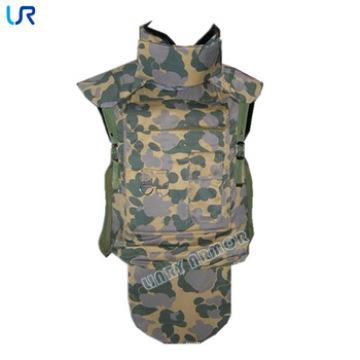 Full camuflaje militar camuflaje Aramid chaqueta a prueba de balas / chaleco balístico