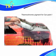 Pigmento termocrômico / pigmento de mudança de cor para pintura automotiva / pintura automotiva