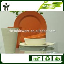 Изготовленная на заказ столовая посуда из бамбука