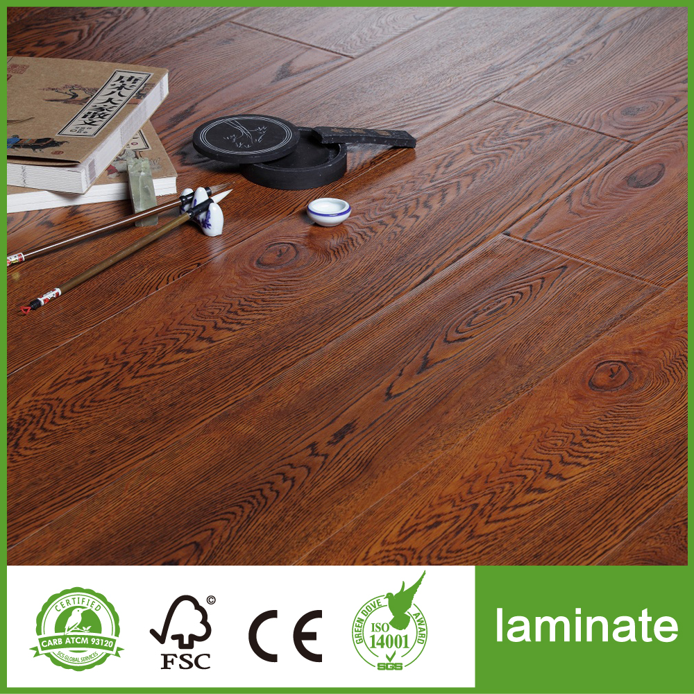 Walnut Color Laminate Flooring