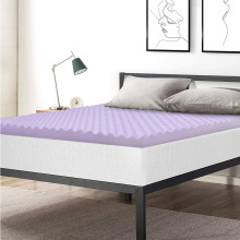 Comfity Edge Support Egg Carton Mattress Pad