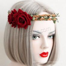 Gets.com Jóias Fábrica Preço barato Moda Headband Nylon Cord