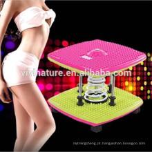 Massagem nos pés rodada figura magnética Twister Trimmer cintura exercício corpo