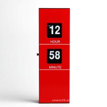Relógio de parede de metal design moderno para decoração de casa