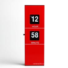 Современный дизайн металл настенные часы для домашнего украшения