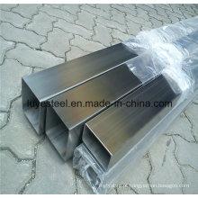 Tubo quadrado de aço inoxidável para a estrutura