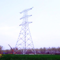 1000kv Double Circuit Linear Power Transmission Steel Pole Tower