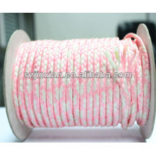 PP Braided Rope,White and Pink Braided Rope
