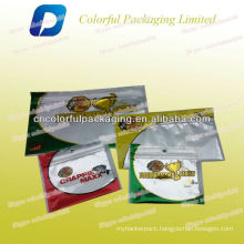 soft baits packaging zipper pouch/soft baits pouch with zipper
