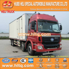 FOTON AUMAN 8x4 270hp 30M3 van lorry good price for exported to Africa