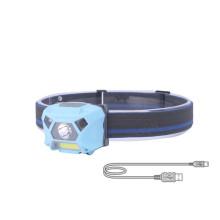 Super Bright Motion Sensor Running Head Lamp