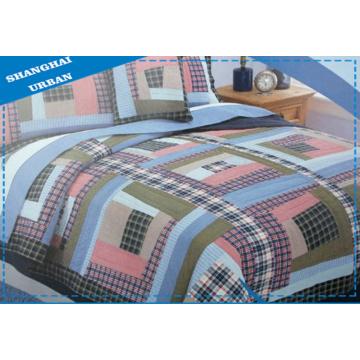 3 STÜCKE Baumwollbettwäsche Patchwork Quilt