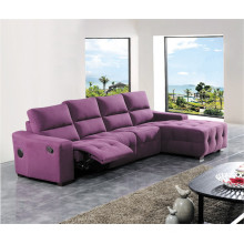 Sofá de salón con sofá moderno de cuero genuino (415)