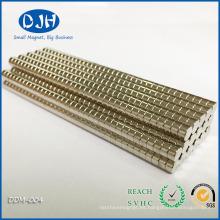 Imanes de tierra de disco duro N42 para componentes eléctricos