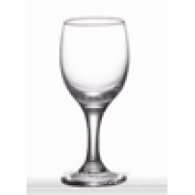 Promotional wholesale glass water goblets/clear short stem water glass for home/bar/wedding