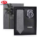 pajarita y juego de corbata accesorio caja de regalo