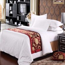 100% Polyester Kundenspezifisches Hotel Bett Schal (DPH6199)