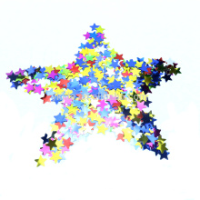 Customized Metallic Shape Table Confetti with Multi-color Star