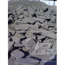 Bloc de carbone anodique pour la fusion du cuivre