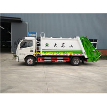 DFAC 142HP 4м3 compactor Погани средствами
