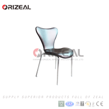 Hot sale used stackable bent plywood dining chair cheap restaurant chairs for restaurant furniture for sale