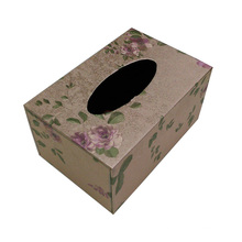 Boîte à tisser design fleur pour hôtel