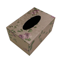 Flower Design Tissue Box para o hotel