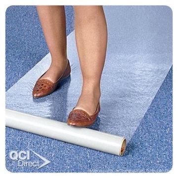 Schutzfolie für Teppich