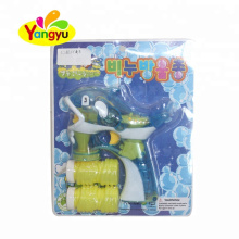 LED Light Up Transparent Dolphin Bubble Gun With Music