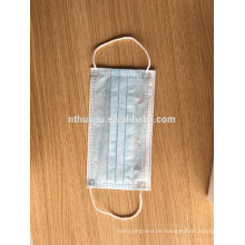 Nicht gewebte blaue Gesichtsmaske 3ply Ohrbügel