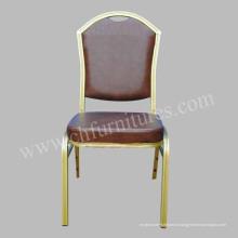 Штабелируемый стул отель с кожи (МК-ZL26-01)