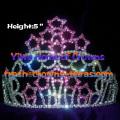 Star Rhinestone Pageant Crowns