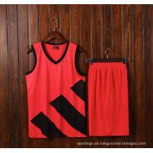 Hot Basketball Jersey Custom Print Baloncesto Wear Hombre Sport Shirt 100% poliéster