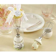Stainless Steel Egg Whisk for Party Gift, OEM Orders are Welcome