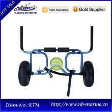 Canoe Carrier, Folding Aluminum Carrier, Hand Carrier Two Wheel
