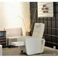 Cadeira de sofá reclinável elétrica Manicure Salon