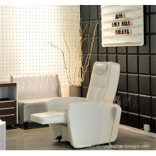 Sillón reclinable eléctrico Manicure Salon